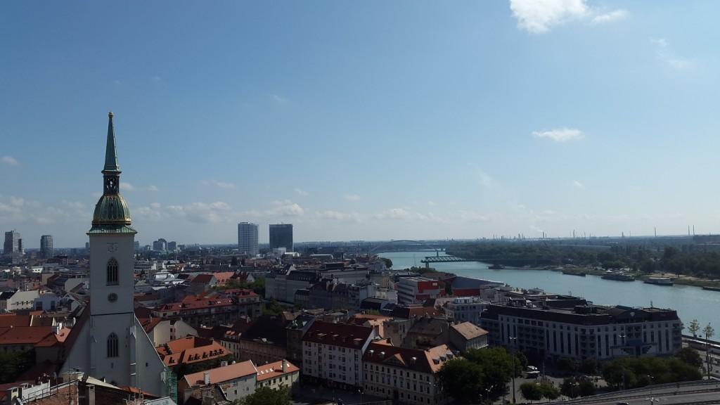 Bratislava Castle, Bratislavský hrad, Slovakia, Travel, Sights, View from the Castle