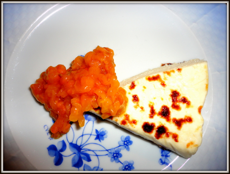 Finnish treats: Kainuun leipäjuusto & cloudberry jam