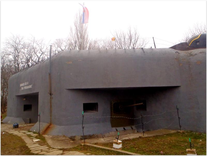 Bunker BS-8 Hřbitov, Sights in Bratislava, Slovakia, WWII Bunker, World War II