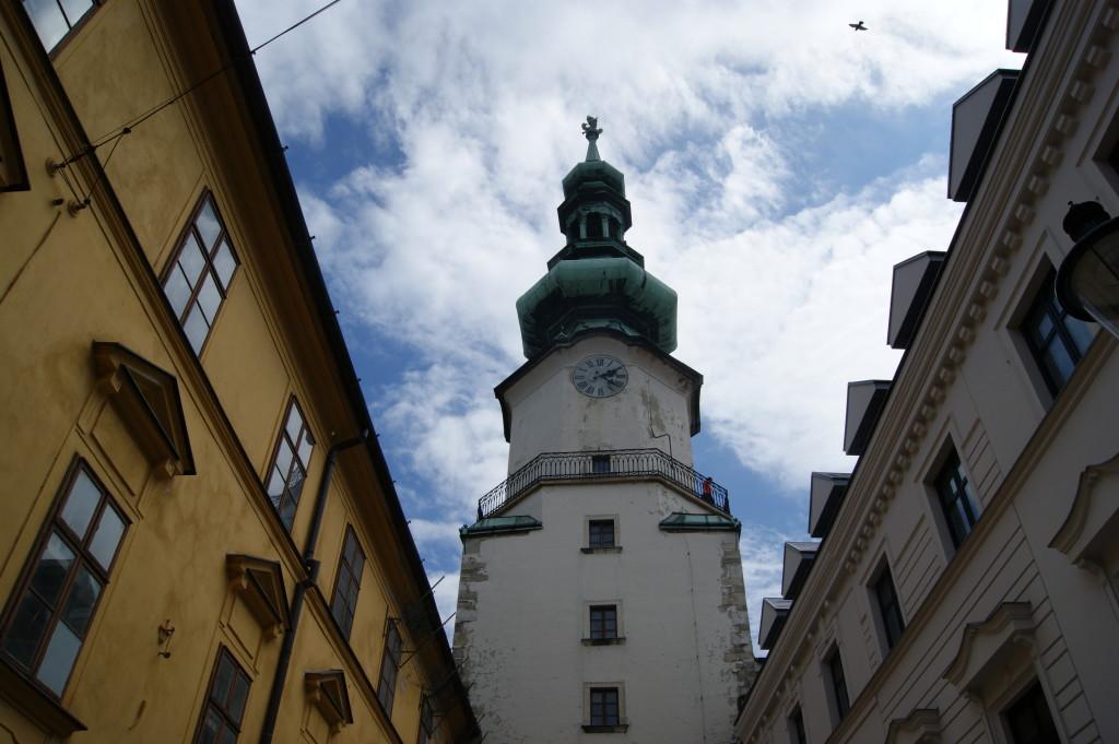 Michael's Gate, Michalská brána, Sights in Bratislava, Slovakia