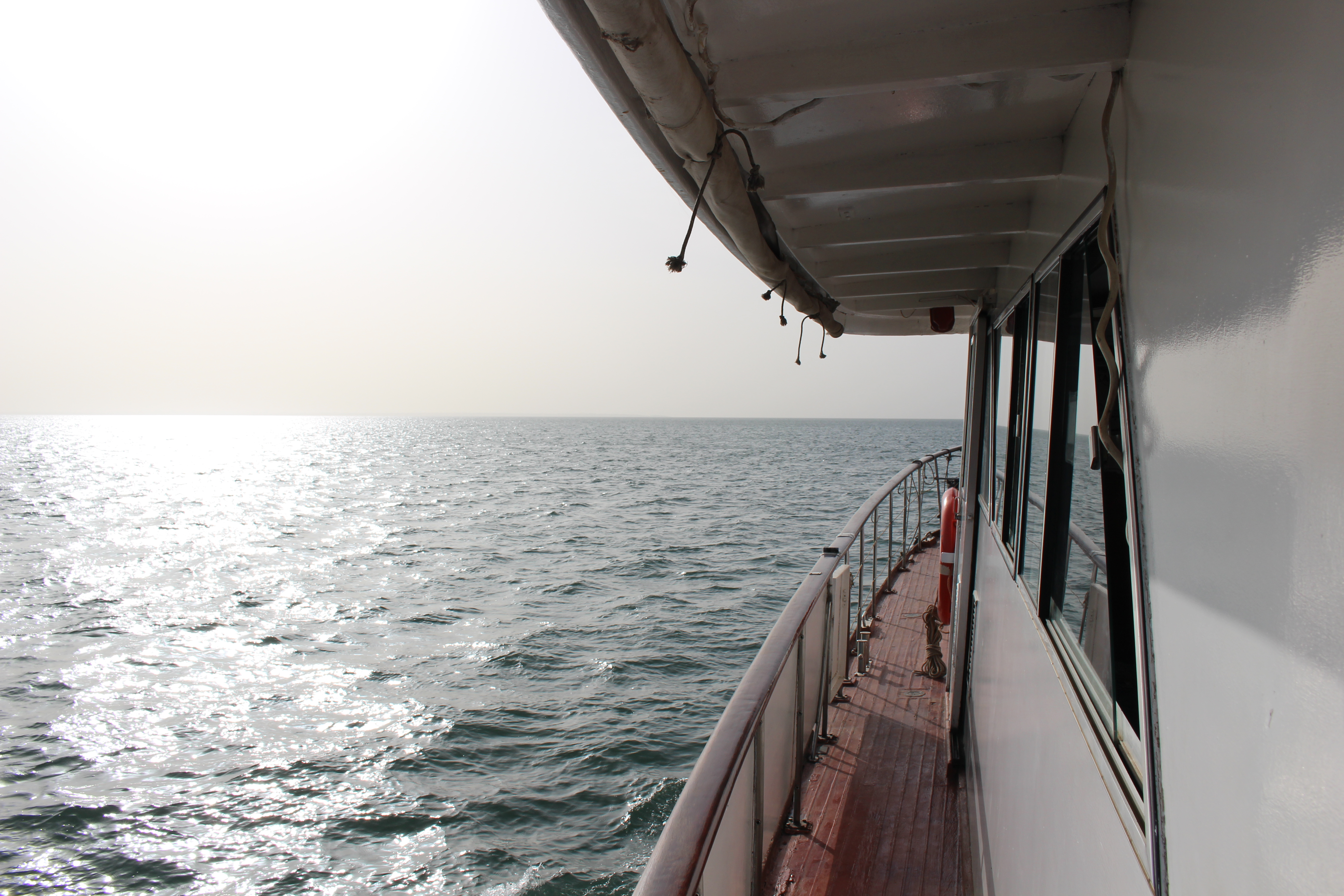Boat on the Gambia river