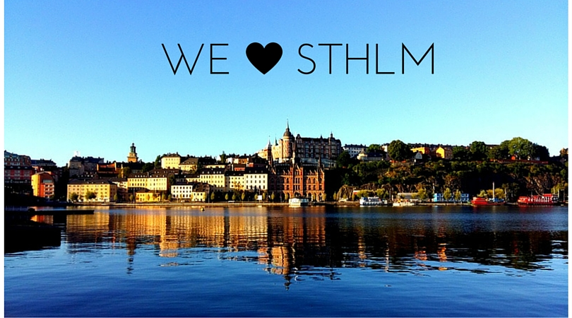 Stockholm at 7 in the morning!