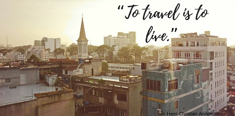 """Quotes: """"To travel is to live."""""""