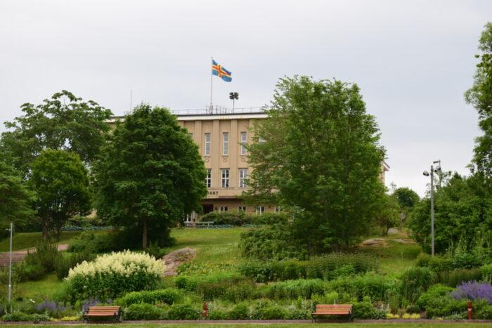 Mariehamn, Stadshuset, Åland