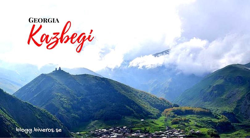 Georgian Mountains – Kazbegi
