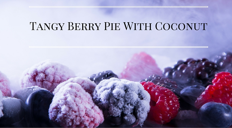 Tangy Berry Pie With a Hint of Sweet Coconut