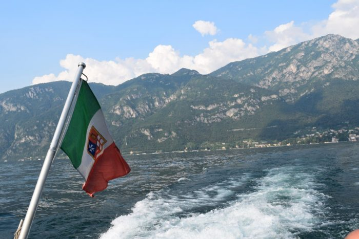 Traveling to Lake Como