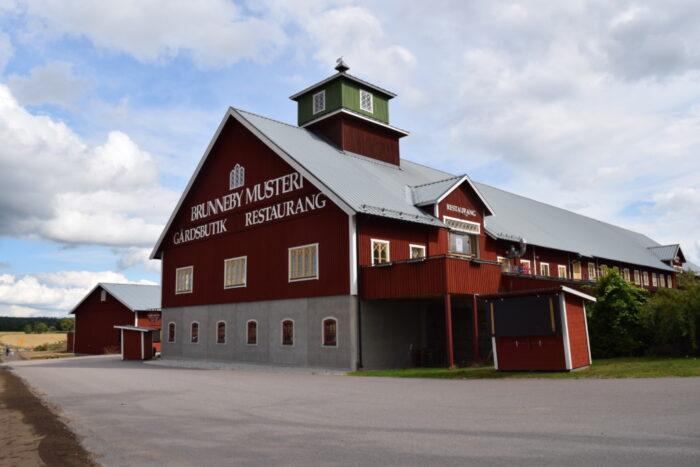Brunneby Musteri, Gårdsbutik, Restaurang, Borensberg, Sweden
