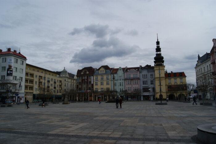 Masarykovo Náměstí, Main Square, Center, Ostrava, Czech republic