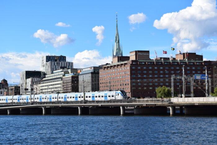 Pendeltåg, Stockholm, Sverige