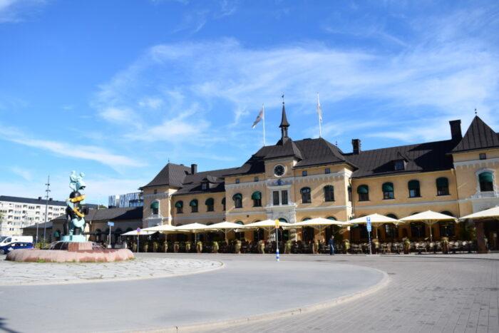 Centralstationen, Uppsala, Sverige