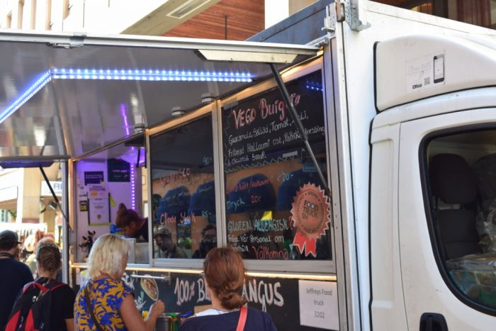Food Truck, Uppsala, Sverige