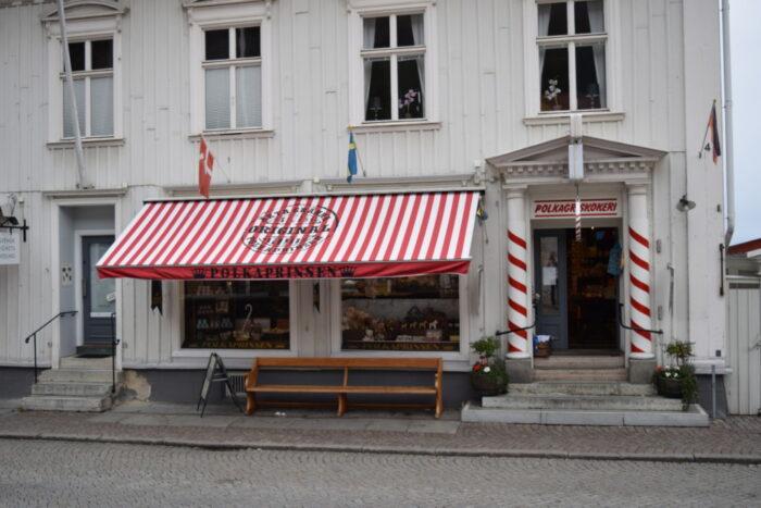 Polkagrisar, Gränna, Sverige