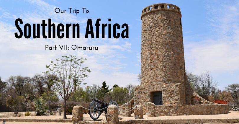 Our trip to Southern Africa, Omaruru, Namibia