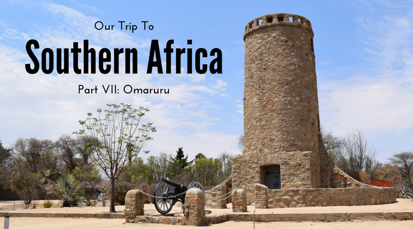Our trip to Southern Africa, Omaruru, Namibia