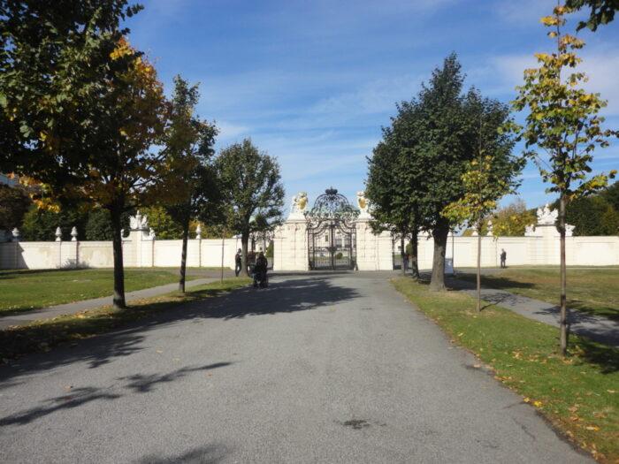 Gates, Schloss Belvedere, Belvedere Castle, Wien, Austria, Österreich, Österrike