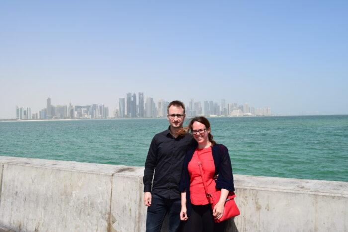Jesper and Susann, Doha, Qatar