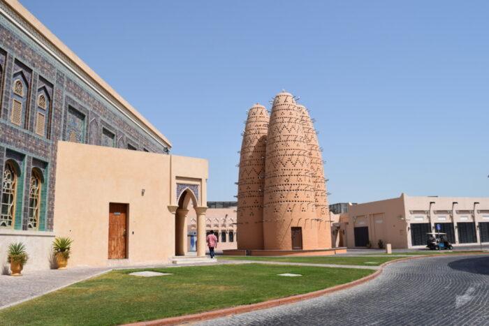 Arabian Dovecot, Katara Cultural Village, Doha, Qatar