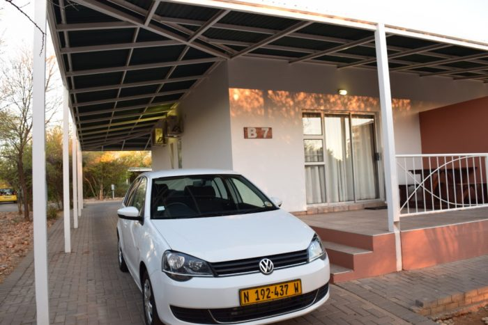 Namibia, Arebbusch Travel Lodge, Avis, Car, Parking