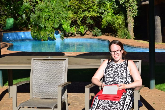 Susann, Aero Guest Lodge, Johannesburg, South Africa