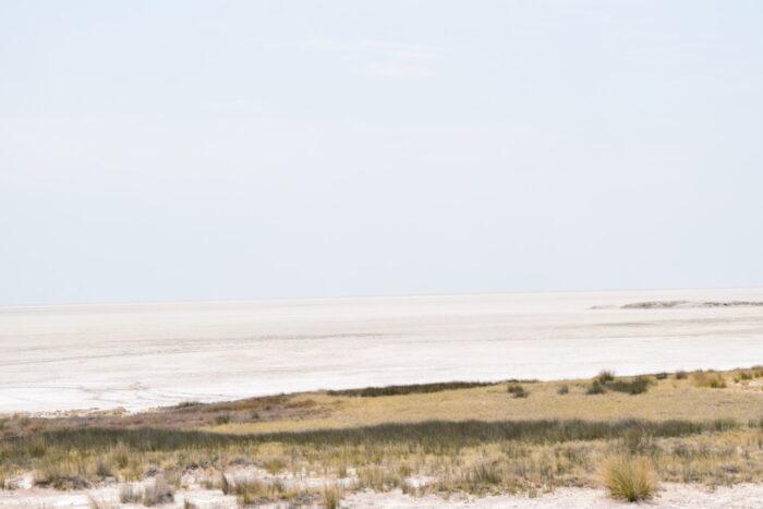 Etosha Pan, Salt Pan, Etosha National Park, Namibia