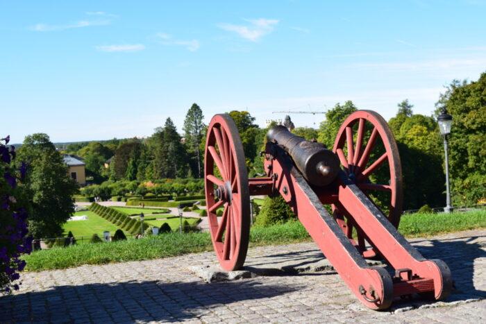 Canon, Uppsala Castle, Sweden