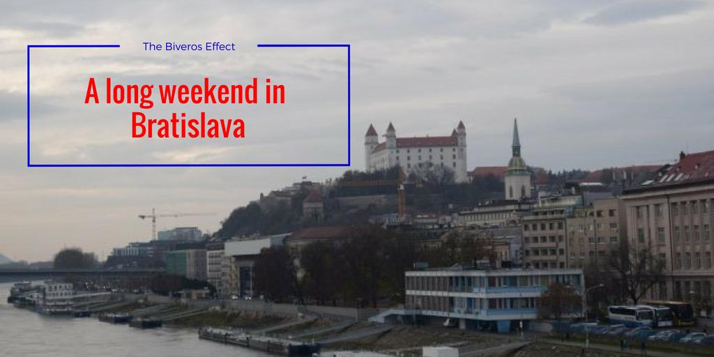 A long weekend in Bratislava