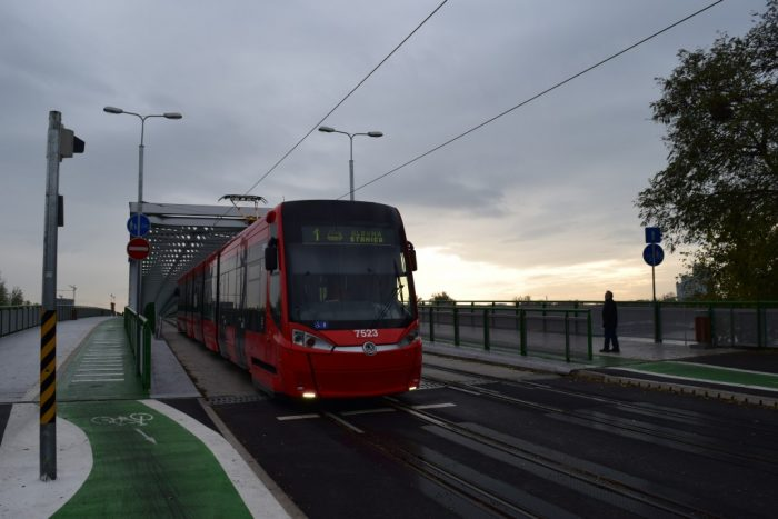 Stare Most, Tram, Bratislava, Slovakia