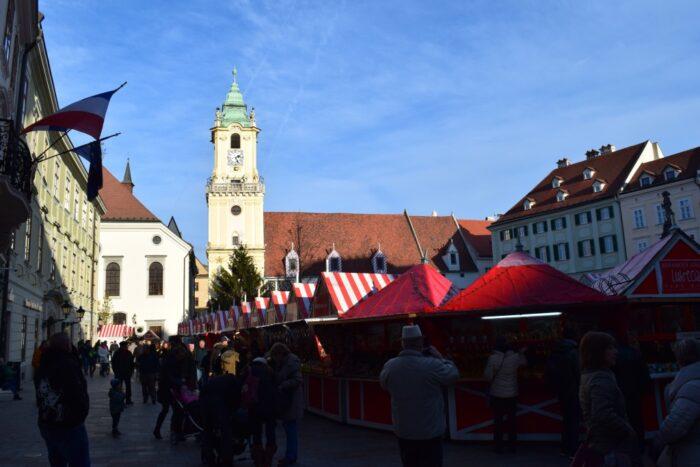 Slovenský vianočný trh, Bratislava, Slovensko