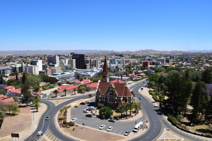 Christ Church, Christuskirche, Windhoek, Namibia