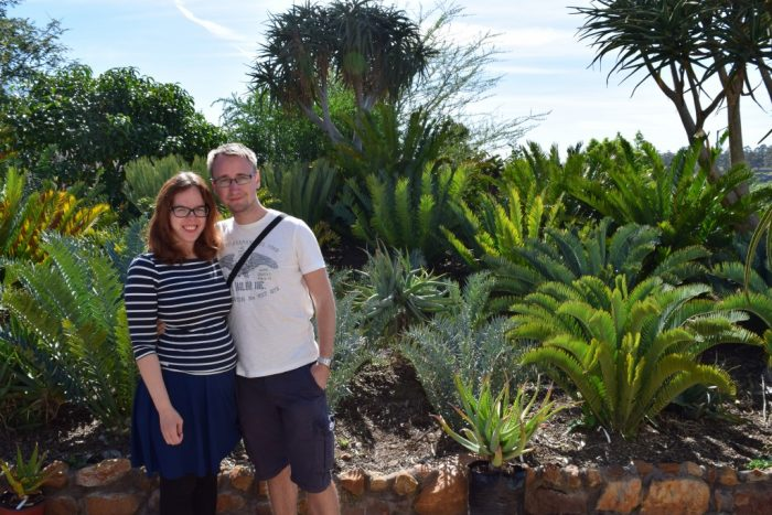 Jesper, Susann, Rooiklip Nursery, Aan De Bergen Guest House, Swellendam, South Africa