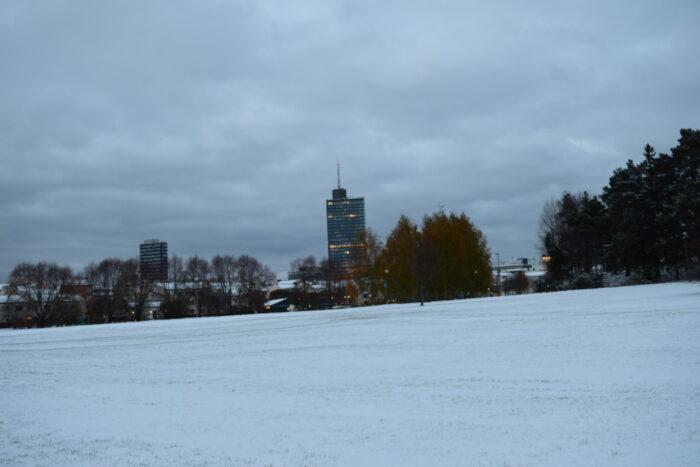 Kista, Stockholm, Winter, Snow, Sweden