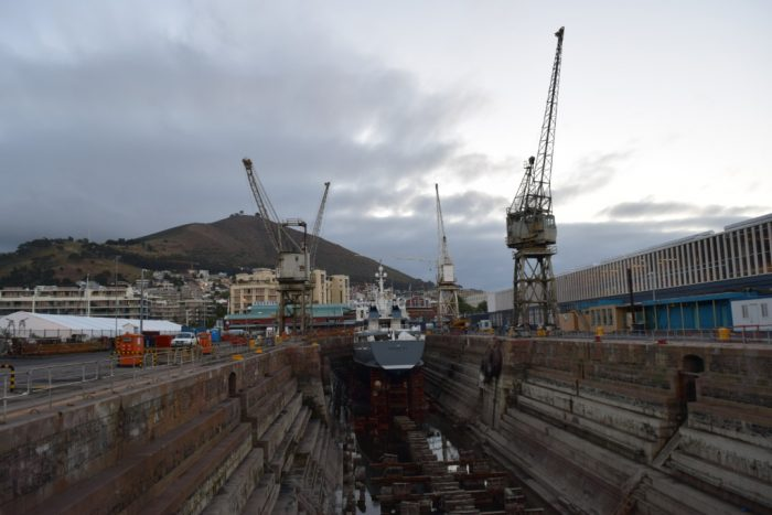 Waterfront, Drydock, Cape Town, South Africa