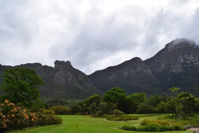 Botanischer Garten Kirstenbosch, Kapstadt, Südafrika, Tafelberges