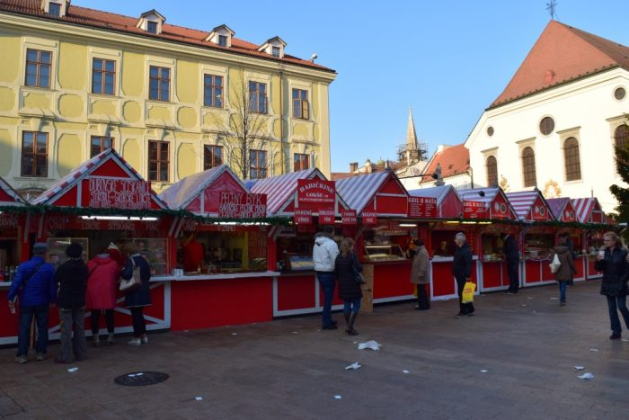 Slovak Christmas Market, Bratislava, Slovakia