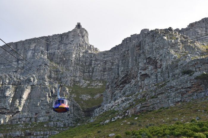 Cable Way, Cableway, Cable Car, Table Mountain, Cape Town, South Africa