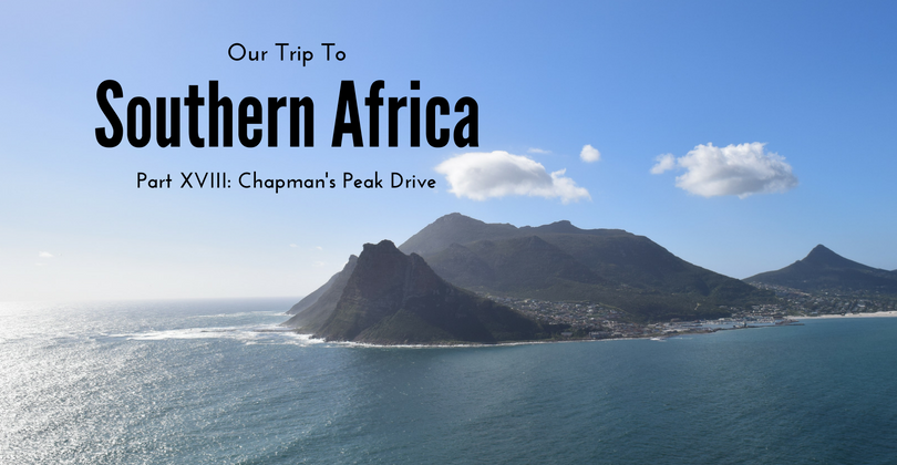 Chapman's Peak Drive, Cape Town, Cape Point, South Africa