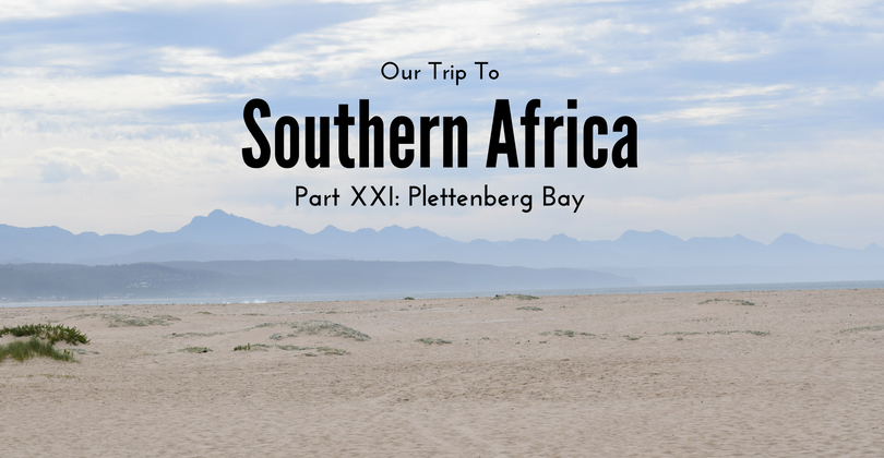 Plettenberg Bay, South Africa, Trip to Southern Africa
