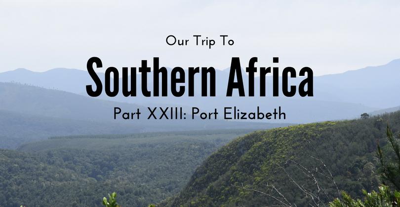 Port Elizabeth, South Africa, Southern Africa
