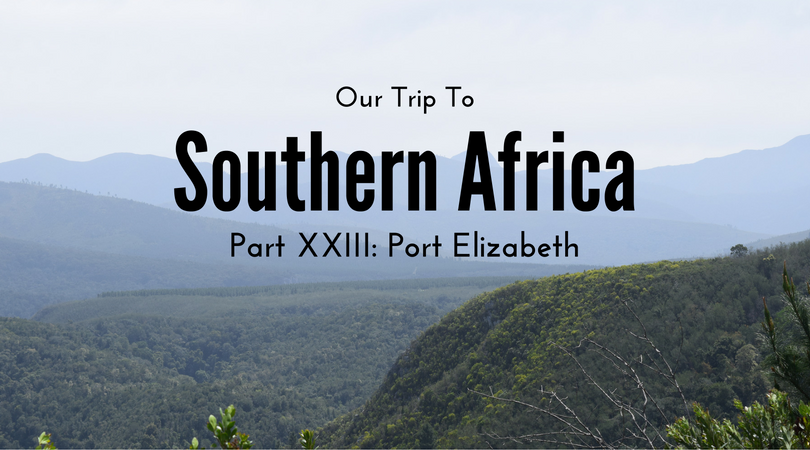 Southern Africa, Part XXIII – Port Elizabeth, South Africa