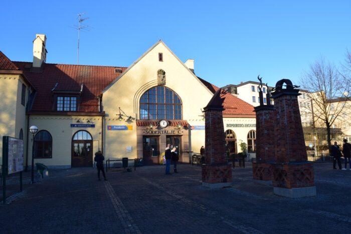 Södertälje Central, Sodertalje, Södertälje, Sweden, Sverige
