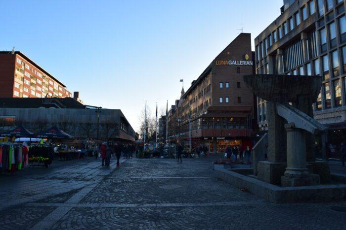 Centrum, Luna Gallerian, Sodertalje, Södertälje, Sweden, Sverige