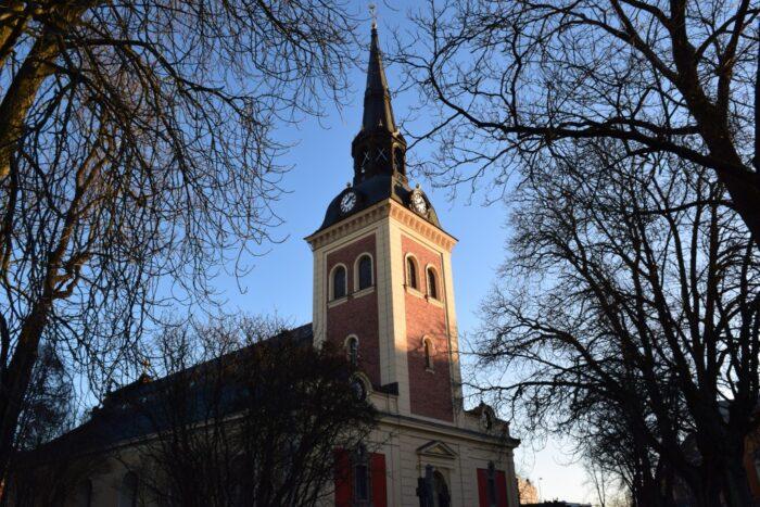 Sankta Ragnhilds Kyrka, Church, Sodertalje, Södertälje, Sweden, Sverige