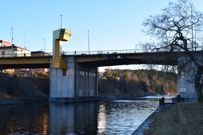 Mälarbron, Sodertalje, Södertälje, Sweden, Sverige