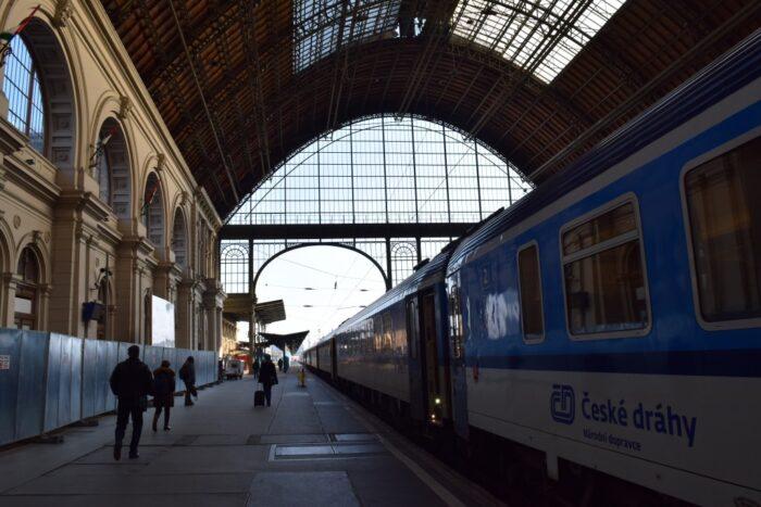 Budapest Keleti Railway station, EuroCity Train, Hungary