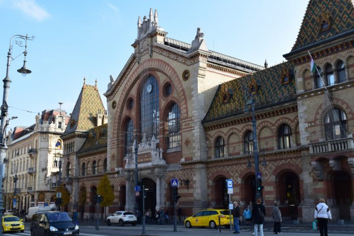 Great Market Hall, Nagyvásárcsarnok, Budapest, Hungary