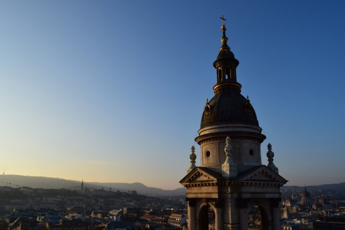 St. Stephen's Basilica, Tower, View, Budapest, Hungary