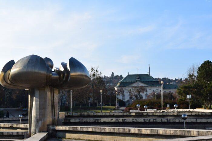 Námestie Slobody, Freedom Square, Gottko, Bratislava, Slovakia, Slovensko