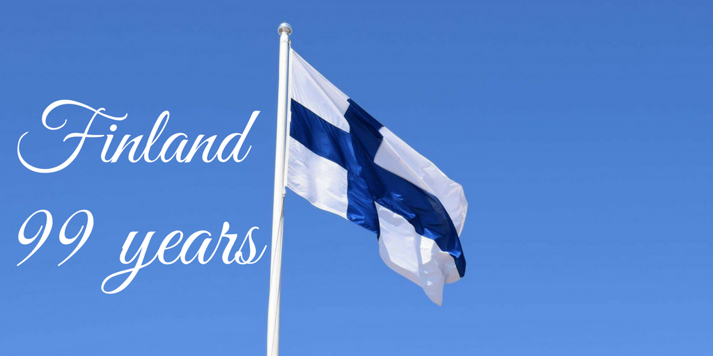 Congratulations Finland, 99 Years Old!