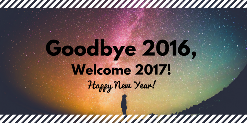 Welcome 2017!
